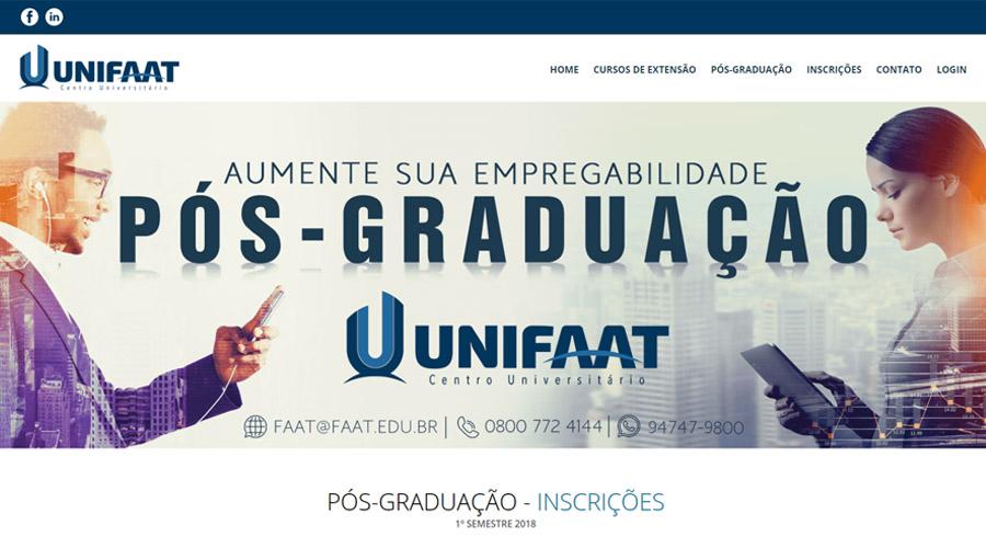 Pós-Graduação UNIFAAT
