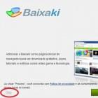 Instalando um aplicativo do Baixaki