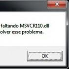 Solucionar erro MSVCR110.DLL ao iniciar o WampServer