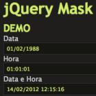 Máscara para campos Input com Jquery