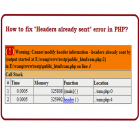 Erro com SESSION Cannot modify header information headers already sent by no PHP