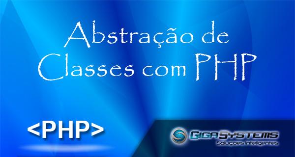 abstração de classe com php