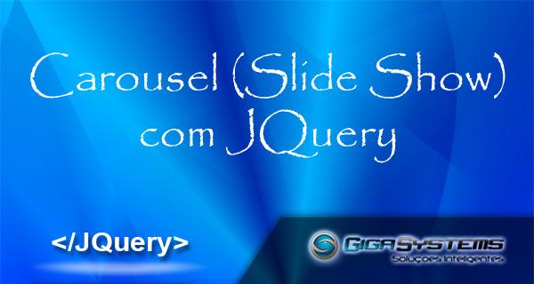 carousel slide show com jquery