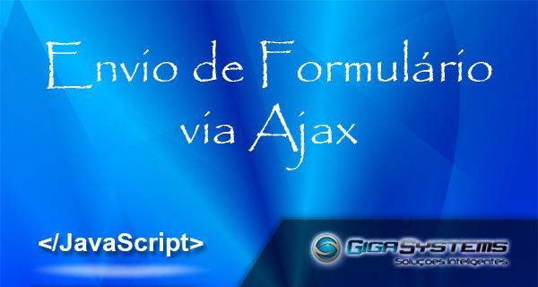 Envio de Formulário com Ajax