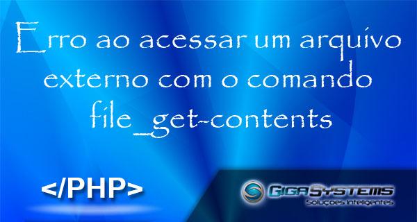 erro-file-get-content